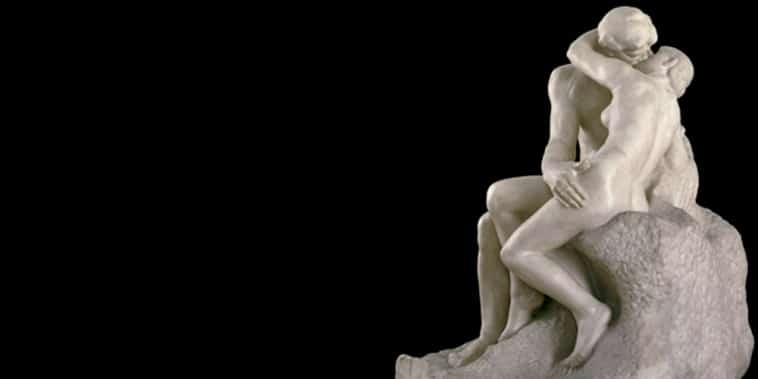 The Kiss oleh Rodin