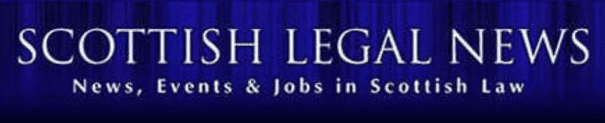 Scottish Legal News logo