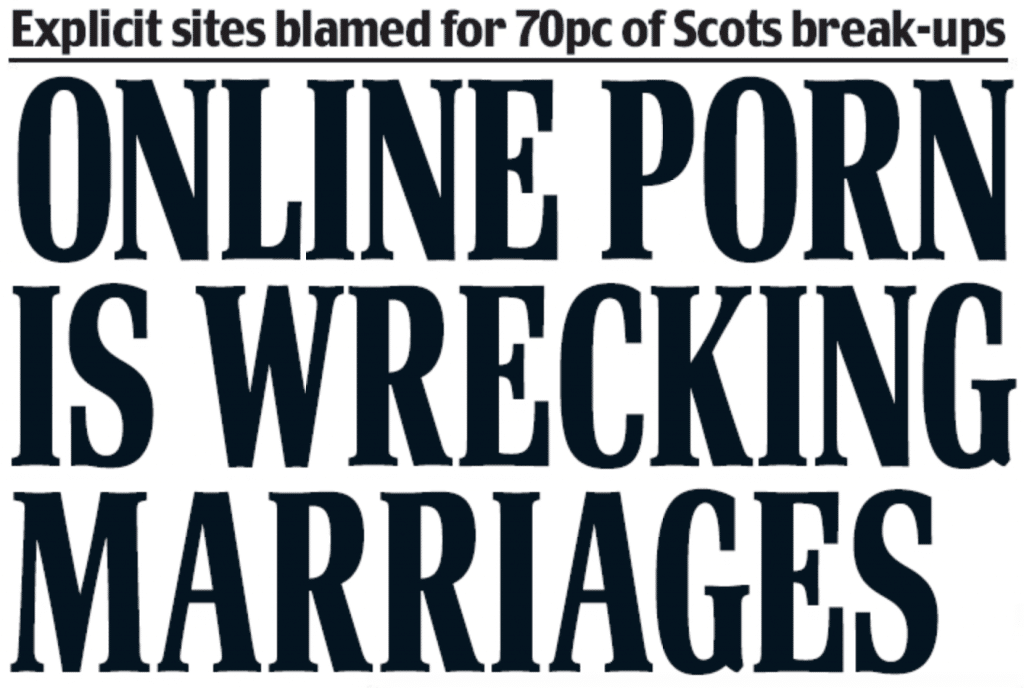 Başlıqlı Scottish Daily Mail