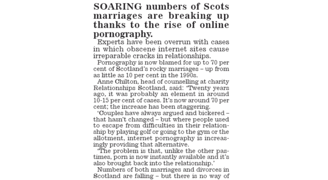 Scottish Daily Mail Page 1 text