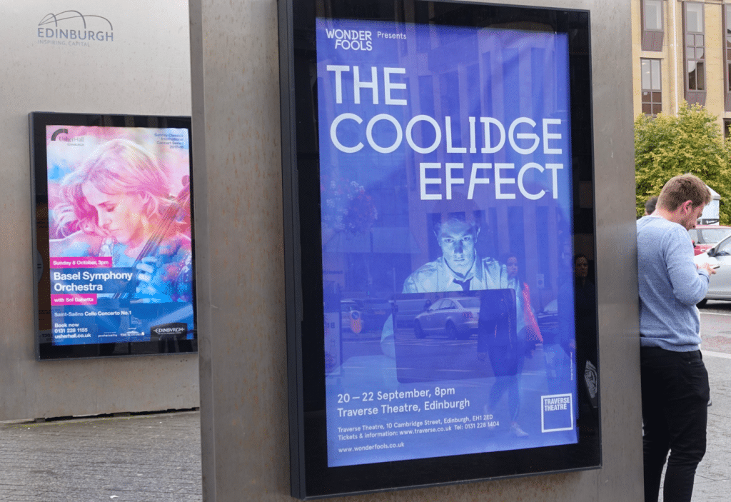 The Coolidge Effect poster at Traverse Theatre