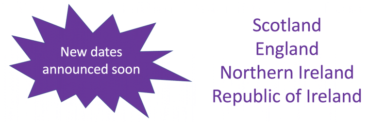 New dates announced soon Scotland England Northern Ireland Republic of Ireland