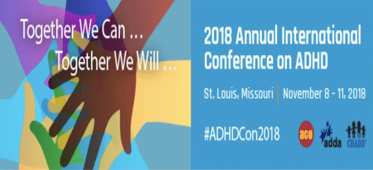 በ ADHD ላይ የ 2018 ዓመታዊ ዓለም አቀፍ ጉባዔ