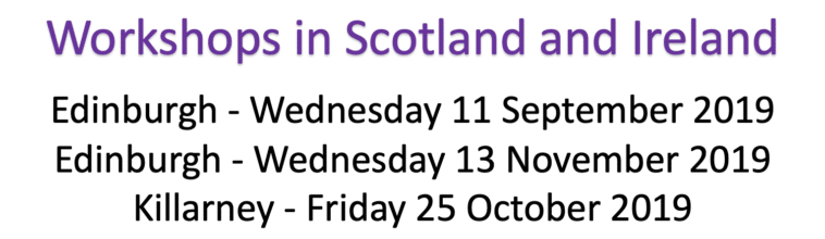RCGP Workshops in Scotland and Ireland