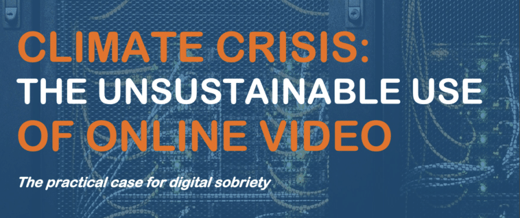 The unsustainable use of online video